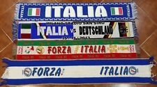 Italia Scarf Sciarpa World Cup National Team Football Vintage Scarves Italy Rare