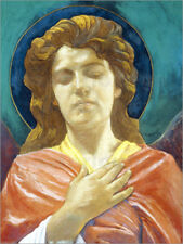 Cuadro sobre lienzo Head of an Angel - John La Farge