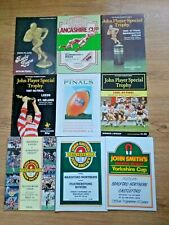 Rugby League Final Programmes 1948 - 2009
