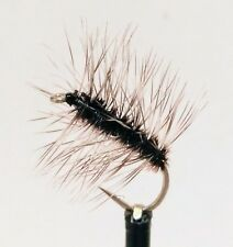 3 GRIFFITHS GNAT Dry Flies (Grey Palmer) Midge Trout Grayling Fly Fishing #10,12