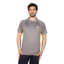 Tacchini habillement homme polo gris manche courte polyester 72736 chic moda1