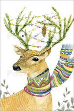 Cuadro sobre lienzo Christmas Deer - Kidz Collection