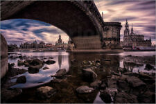 Cuadro de madera View of Dresden - Hessbeck Photography