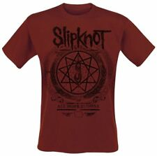 Slipknot Blurry  T-Shirt rosso scuro