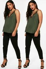 Boohoo Maternity Fifi 2 Pack Jersey Peg Trousers per Donna