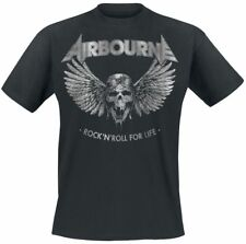 Airbourne Rock 'N Roll For Life T-Shirt nero