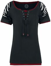 RED by EMP Replaceable Longsleeves Shirt Maglia donna nero