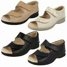 Brand Attic Womens Sandals Comfortable with Ankle Strap and Velcro Fastening