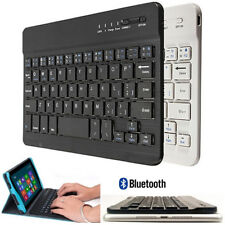 ULTRA FINO Teclado Bluetooth Inalámbrico para IOS ANDROID WINDOWS PC Aluminio