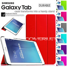 All Tablet Models For Samsung Galaxy New Case Folio Cover Slim Smart Back Book