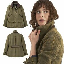Joules Official Burghley Ladies Equestrian Outdoor Horse Riding Tweed Fieldcoat