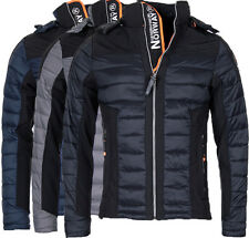Geographical Norway Abrigo suaves de hombre Chaqueta Guateada MIX Parka