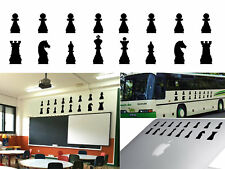 Chess chips sticker vinyl cut. pegatinas Fichas Ajedrez vinilo corte