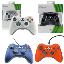 Xbox 360 Controller Boxed Wired or Wireless PC Compatible (Several Colours)