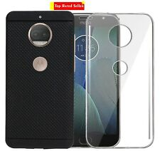 Value Combo of TPU And Dotted Back Case Cover For Motorola Moto G5s Plus