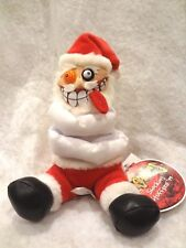 MEANIES SHOCKING STUFFERS ~ INSANITY CLAUSE 1999~STUFFED PLUSH TOY~NEW with TAG