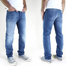NUOVO Diesel Jeans slim fit uomo pantaloni Buster Tapered DRITTO tutte le taglie