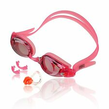 Mirrored Leakproof Anti-fog UV Prescription Swim Goggles Custom Diopter Level