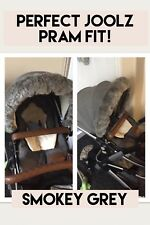 JOOLZ PRAM Fur Hood Trim perfect fit, Stokke, Icandy, Mothercare Spin, Pram