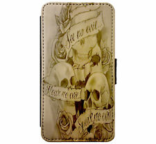 See no Evil - Hear no Evil - Speak no Evil Skulls Gothfor iPhone & Samsung D9