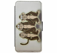 See no Evil - Hear no Evil - Speak no Evil Skulls Gothfor iPhone & Samsung D5