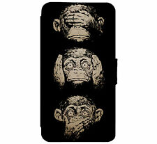See no Evil - Hear no Evil - Speak no Evil Monkeysfor iPhone & Samsung D4