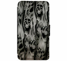 See no Evil - Hear no Evil - Speak no Evil Skulls Gothfor iPhone & Samsung D6