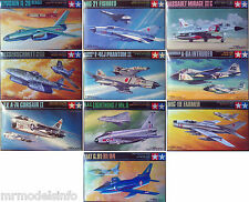 Tamiya 1/100 Aircraft (Military) Jets New Plastic Model Kit