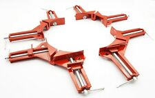 """4"""" 100mm Corner Clamps Mitre Clamp Picture Holder Woodwork Framing Right Angled"""