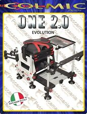 Paniere Colmic ONE 2.0 EVOLUTION - made in Italy - Bianco/Nero - Nero/bianco