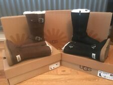 Girls Genuine UGG Australia Tall Leather Boots - Kensington Kids BNIB Gift