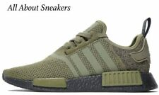 "Adidas NMD R1 ""Olive Green Black"" Men's Trainers All Sizes Limited Stock"