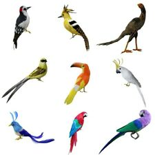 Artificial Feather Birds Tree Decorations Craft Ornaments Christmas Decor