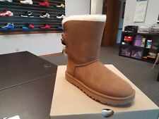 NEW UGG AUSTRALIA WOMENS BAILEY BOW II BOOT 1016225-CHE CHESTNUT  NEW IN BOX
