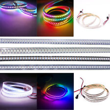 1M/2M 144LED/M Tira de Luces LED WS2812B WS2811IC 5050 RGB Strip Lights DC 5V