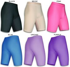 Womens Compression Shorts Base Layer Lycra Run Gym Exercise Dance Yoga Fitness