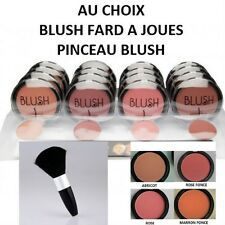 BOITIER FARD A JOUE BLUSH ABRICOT ROSE MARRON MAQUILLAGE MAKE UP PINCEAU MAC120