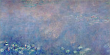 Póster Waterlilies: Two Weeping Willows (detail) - Claude Monet