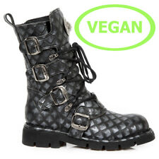 New Rock Vegane Gothic EBM Metal Ranger Army Biker Boots Stiefel M.1473-V17