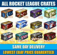 Rocket League Crates || PC (Steam) || Same Day Delivery || CHEAPEST