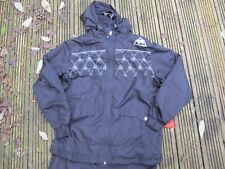 New Mens LE COQ SPORTIF TRACK JACKET MICRO  Jacket Track Top BLACK  M TOP ONLY