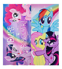 Childrens My Little Pony Discover Print Velour 100% Cotton Beach Bath Towel