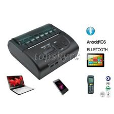 Portable 80mm Thermal Receipt Printer Bluetooth USB 90mm/S for Android IOS