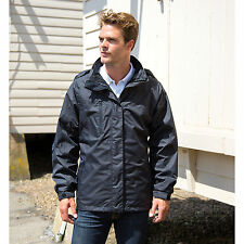 Result Hombre 3 en 1 Softshell Journey Chaqueta Completo Mangas IMPERMEABLE