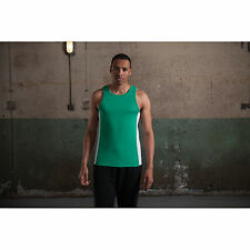 AWDis JUST COOL Contraste Camiseta Absorbente Gimnasio ropa deportiva hombre