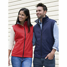 RESULT Core Softshell chaleco de invierno hombre mujer impermeable Chaleco