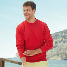FRUIT OF THE LOOM HOMME LÉGER Pull col rond pull été tricot