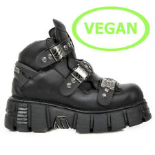 New Rock M.122-C3 Gothic Vegane EBM Metal Alternative Ankle Boots Schuhe Shoes