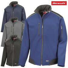 RISULTATO Giacca in softshell ANTI VENTO IMPERMEABILE STRETCH Caldo Workwear