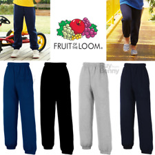 FRUIT OF THE LOOM enfants Pantalon de jogging bas sport PE garçons NEUF